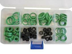 Refrigeration Hose & Seal Repair Kit, & O-Rings For R134a Au