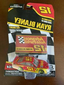 Ryan Blaney #12 NASCAR Authentics Advance Auto Parts 2020 Wa