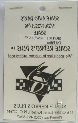 SCALE AUTO PARTS SCALE REPRO'S PLUS OIL FILTER SRP1301  1/24