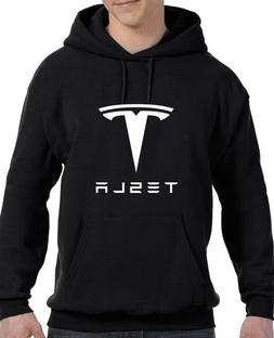 Tesla Auto , Model S Electric Car Parts Hoodie