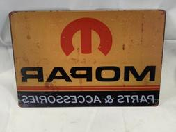 Tin Sign Mopar Parts Metal Decor Wall Art Mechanic Garage Au