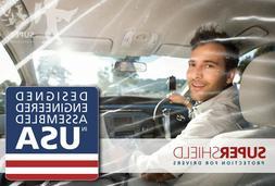 Uber Lyft Tax Partition Cab Car Divider virus Film Isolation