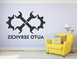 Wall Vinyl Sticker Mural Decal Decor Auto Repair Service Sho